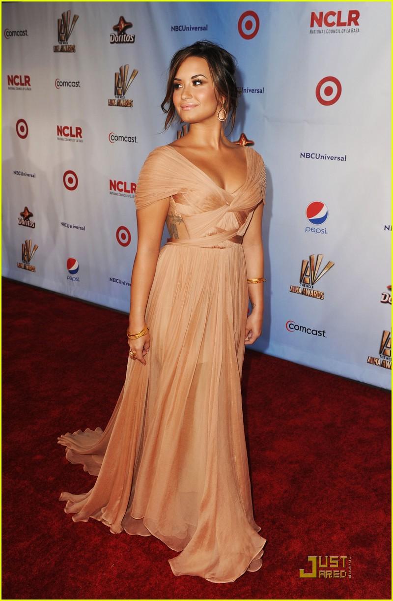 Demi Lovato 2011 Alma Awards Justine S Secret